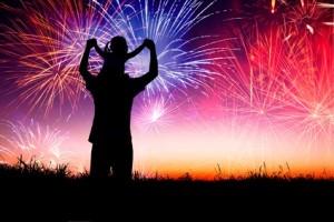 artificii copil